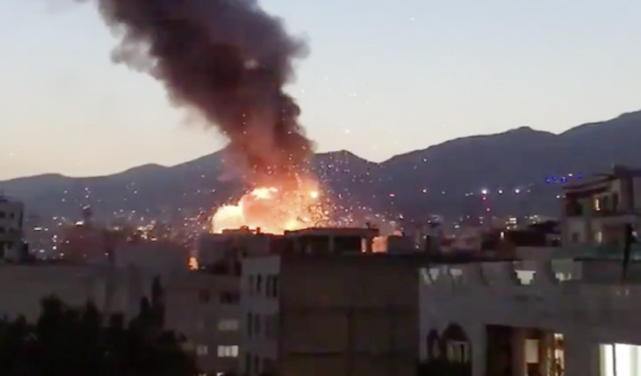 Tehran के मेडिकल क्लीनिक में भीषण धमाका, 19 लोगों की गई जान, कई घायल