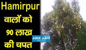 Hamirpur वालों को 90 लाख की चपत