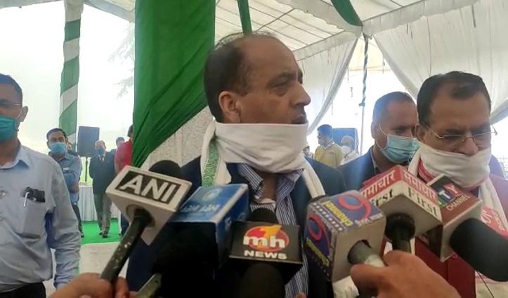 विरोधियों पर बरसे Jai Ram, बोले- हम बोलने पर आएंगे तो नुकसान होगा