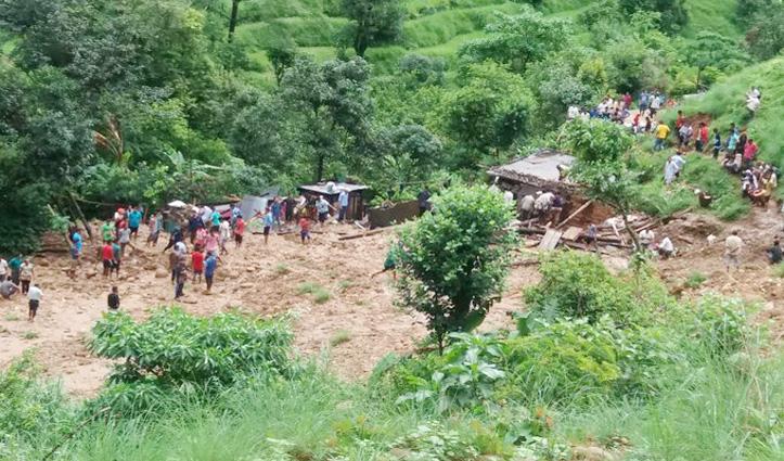 Pithoragarh में फटा बादल : तीन की मौत, 9 लोग लापता, मलबे में कई घर दबे