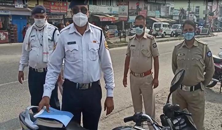 मैहतपुर में नाका तोड़ भागा चंडीगढ़ से आ रहा शख्स, जानें क्या था मामला