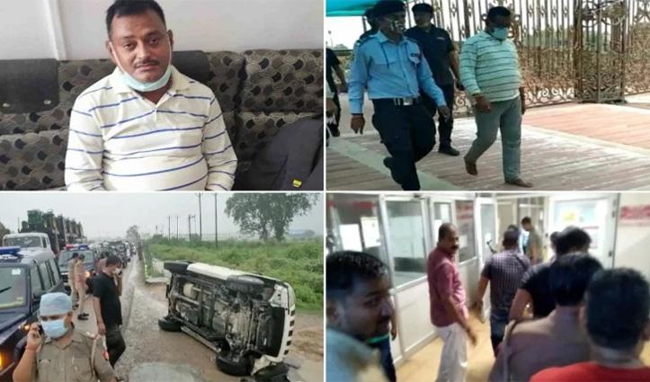 Akhilesh बोले – सरकार बचाने को पलटी गाड़ी, Priyanka ने कहा – संरक्षण देने वालों का क्या होगा