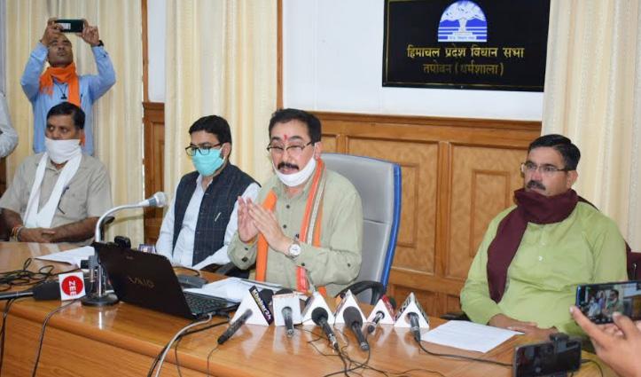 Parmar बोले- विभागों को विधायकों के पत्रों का स्टेट्स ऑनलाइन Update करना जरूरी