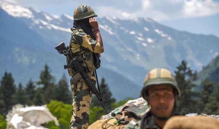 लद्दाख में India-China सैनिकों के बीच फिर झड़प, भारतीय सेना ने दिया जवाब
