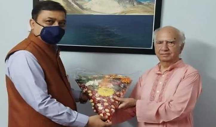 कांगड़ा पहुंचे BJP प्रदेशाध्यक्ष सुरेश कश्यप आइसोलेट, Covid जांच रिपोर्ट आई नेगेटिव