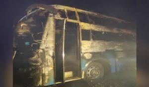Bus में सो रहे थे यात्री, अचानक लगी आग, बच्चे समेत पांच जिंदा जले