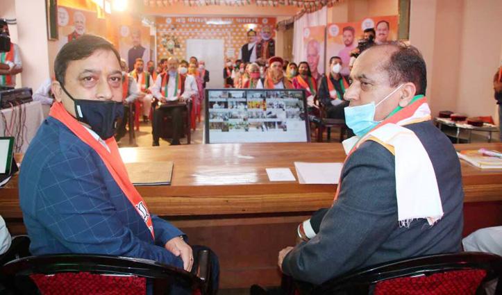 BJP की सेमी वर्चुअल प्रदेश कार्यसमिति बैठक में मिशन रिपीट पर चल रहा मंथन