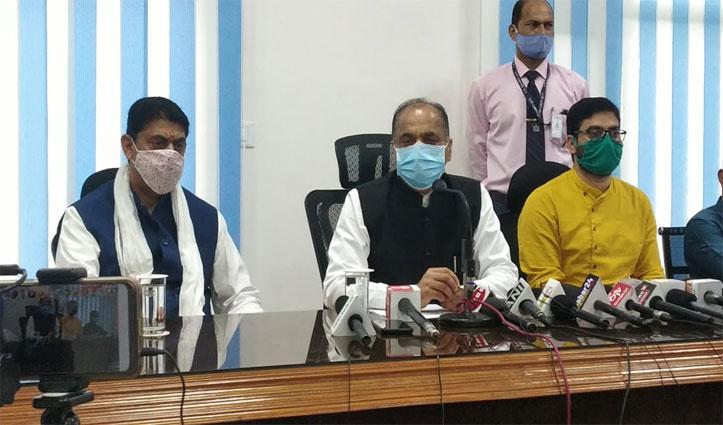 कोविड-19 के प्रकोप के बीच Himachal की आर्थिकी को तीस हजार करोड़ का हुआ नुकसान