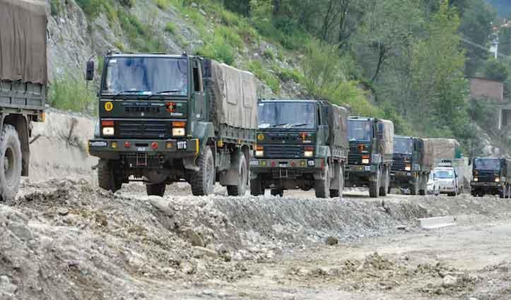 Srinagar-Leh Highway आम लोगों के लिए बंद, भारतीय वायुसेना ने जारी किया Alert