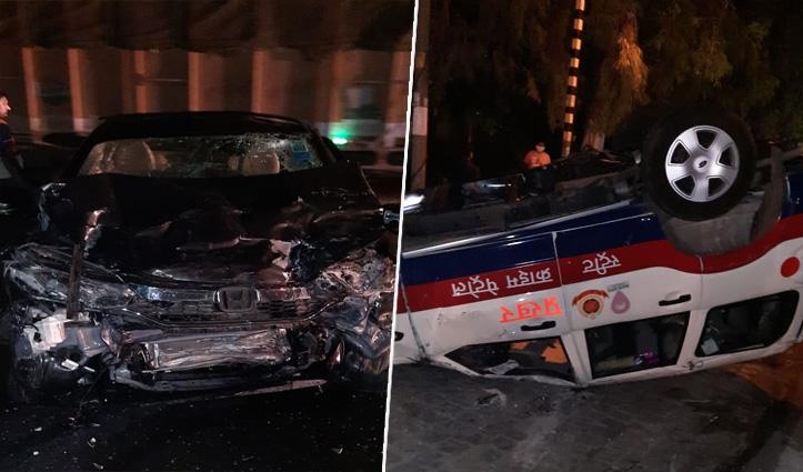 नशे में धुत कार सवार 19 वर्षीय युवक ने मारी Police Van को टक्कर, हेड-कॉन्स्टेबल की मौत