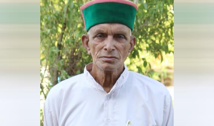 नहीं रहे वयोवृद्ध स्वतंत्रता सेनानी रणजीत सिंह गुलेरिया, दिल का दौरा पड़ने से हुआ निधन