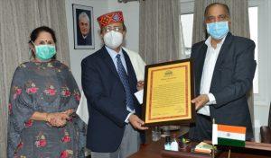 डॉ. जगत राम को