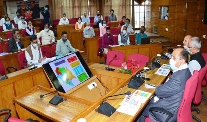 #PWD की समीक्षा बैठक में बोले सीएम जयराम, राज्य के विकास का आईना होती हैं सड़कें