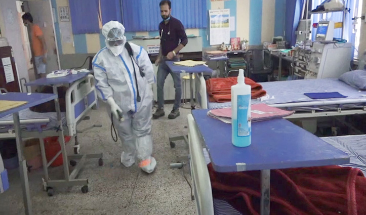 कोरोना मामलों ने बढ़ाई मुश्किलें, Una में विजिलेंस ऑफिस के बाद Dialysis Center भी सील