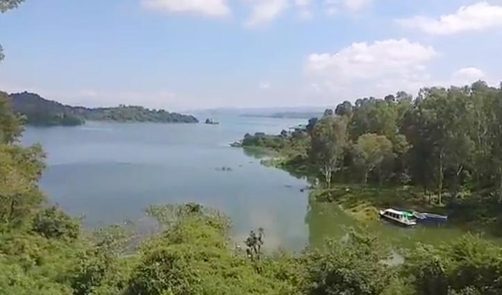 इस साल हिमाचल में हुई कम बारिश: पिछले साल से 8.55 फीट कम है Pong Dam का जलस्तर