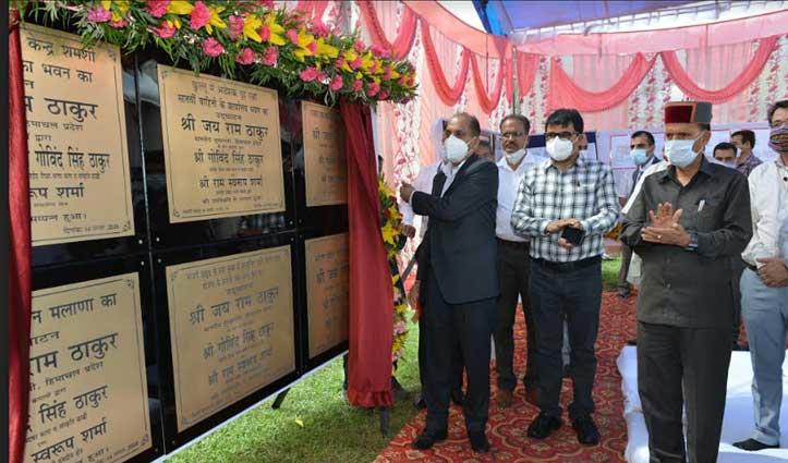 CM जयराम ने कुल्लू में करोड़ों की विकासात्मक परियोजनाओं के शिलान्यास व लोकार्पण किए