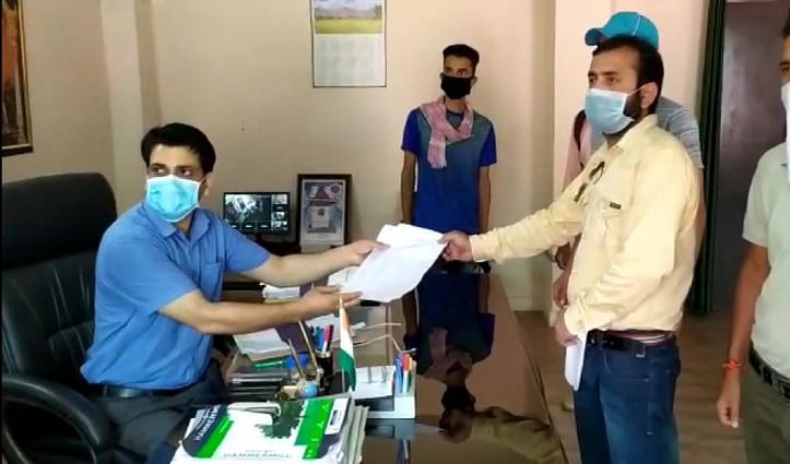 धर्मपुर में खुले Library, प्रतियोगी परीक्षाओं की तैयारी के लिए छात्रों की जरूरत