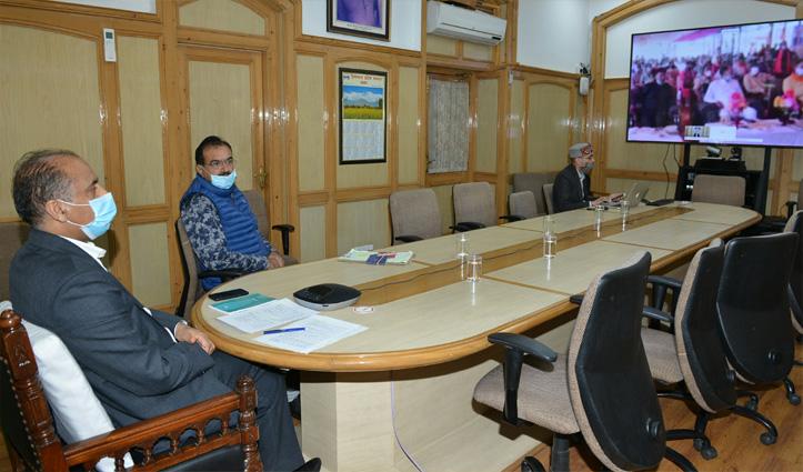 CM ने नाचन विस क्षेत्र को दी 133 करोड़ की सौगात, कई सड़कों का किया लोकार्पण
