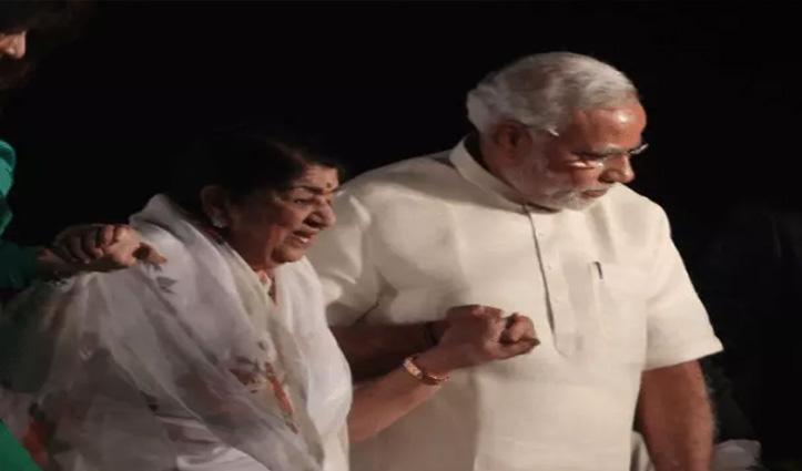 रक्षाबंधन पर लता मंगेशकर ने PM को भेजा संदेश; मोदी बोले- मां-बहनों के आशीर्वाद से देश नई ऊंचाइयां छुएगा