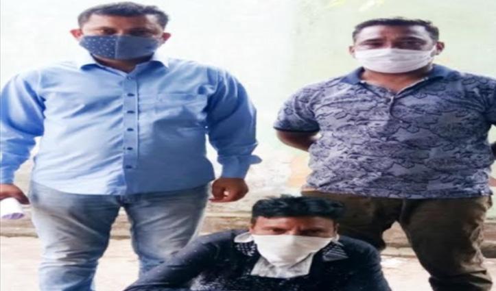 Sirmaur पुलिस ने UP से पकड़ा लूट मामले का उद्घोषित अपराधी