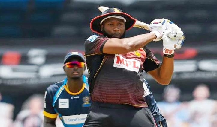 IPL से पहले मुंबई इंडियंस के लिए खुशखबरी: CPL में पोलार्ड ने 28 गेंदों में जड़े 9 छक्के, देखें -VIDEO