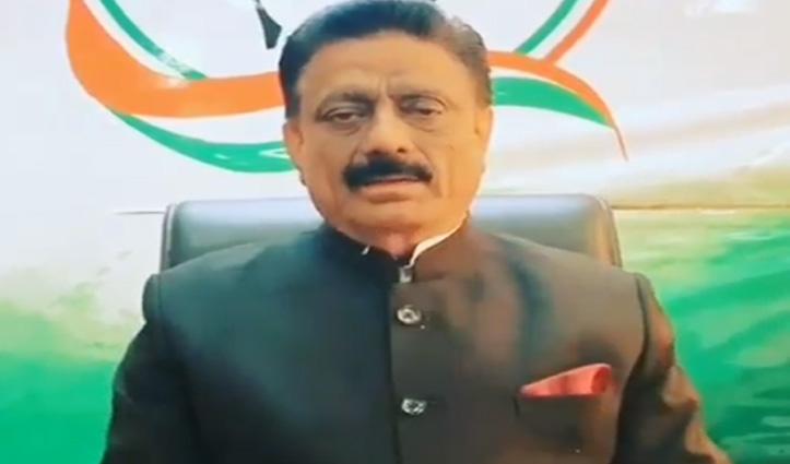 Virbhadra Singh के खिलाफ नारेबाजी पर भड़के कांग्रेस नेता, बीजेपी को घेरा