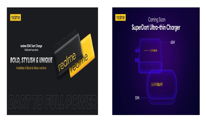 Realme ने लॉन्च की 10000mAh की बैटरी; 10W का सस्ता वायरलेस चार्जर भी किया पेश