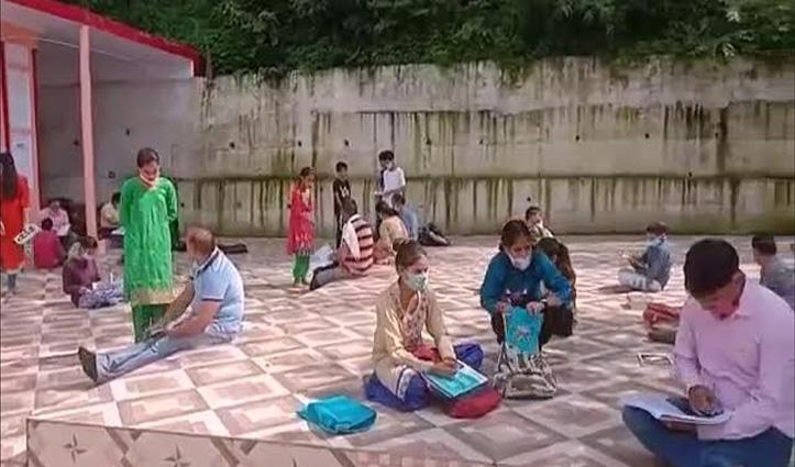 सोलनः Android Phone और सिग्नल नहीं, कैसे पढ़ें बच्चे- पर शिक्षकों ने निकाला तोड़