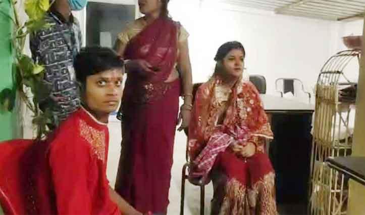 Facebook पर दिव्यांग से हुआ प्यार, शादी करने बिहार पहुंच गई हीरा कारोबारी की बेटी