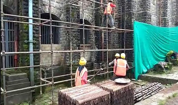 Himachal की इस ऐतिहासिक धरोहर का 132 साल बाद होगा जीर्णोद्धार- काम शुरू