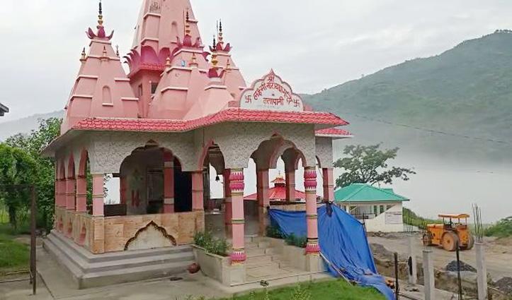 Tattapani के लक्ष्मीनारायण मंदिर में चोरी : मां की नथ व दानपात्रों की नगदी पर किया हाथ साफ