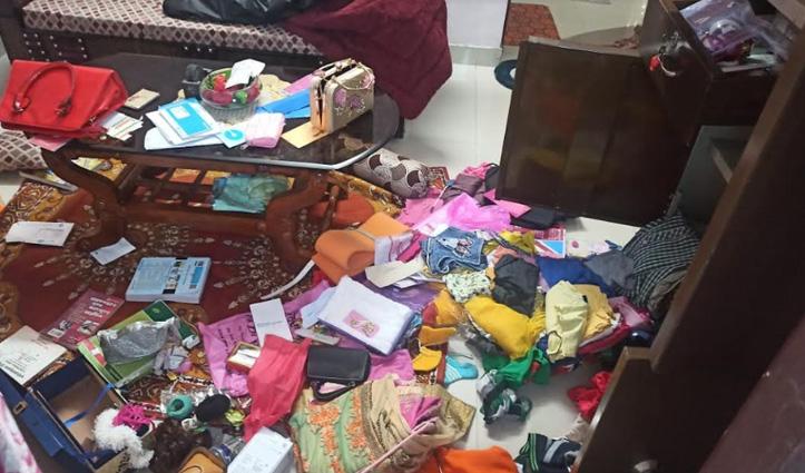 Una में फौजी के घर में चोरी, गहने और नगदी ले उड़े चोर