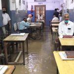 ऊना में बारिश का कहरः कोर्ट परिसर और SP Office में तैरती दिखी कुर्सियां और फर्नीचर