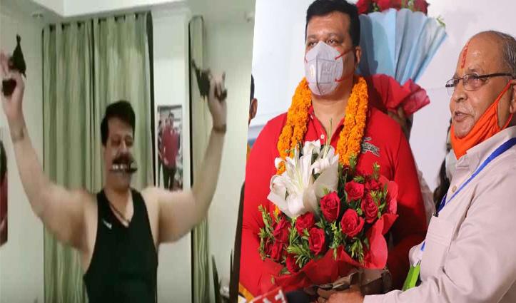 BJP से 6 साल के लिए निकाले गए MLA प्रणव सिंह चैंपियन का निलंबन 1 साल बाद ही रद्द