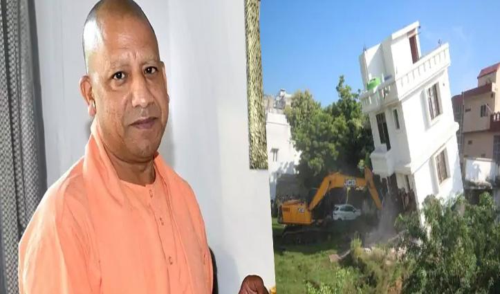 CM योगी इन Action: गैंगस्टर मुख्तार अंसारी के अवैध कब्ज़े वाली 2 इमारतें ढहाई गईं, देखें वीडियो