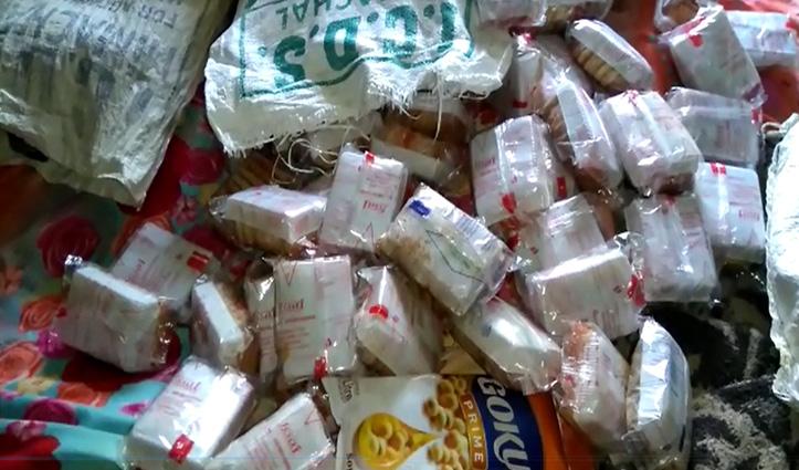 #Solan: आंगनबाड़ी कार्यकर्ता के घर दबिश, चीनी, तेल व बिस्कुट बरामद- सील