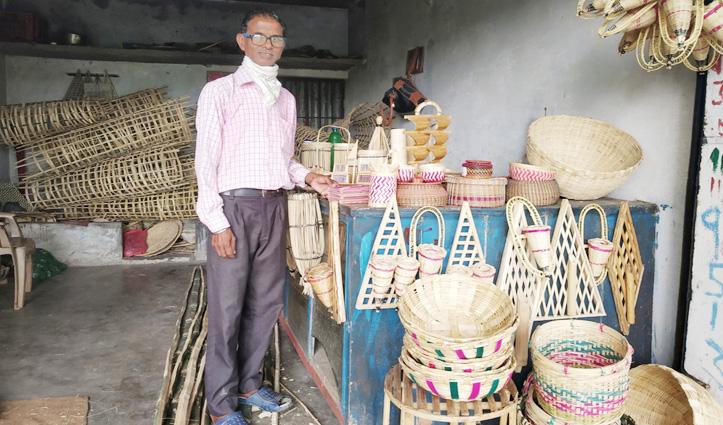 Polythene का विकल्प बन कर उभरा बांस, किसानों को मिल रहा रोजगार