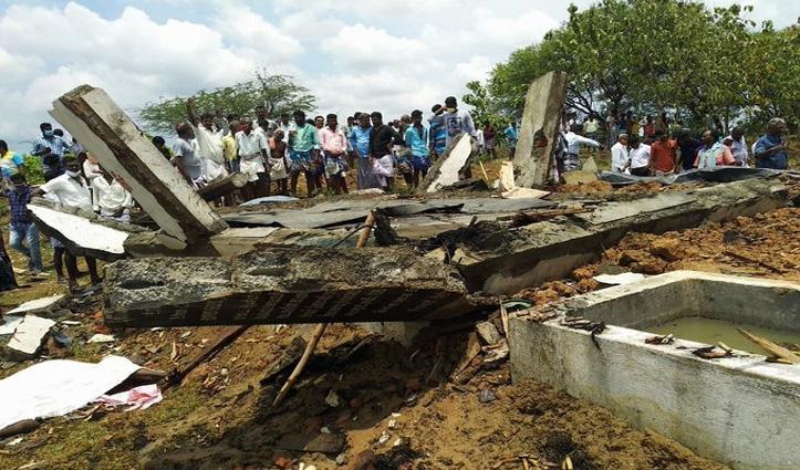 #Tamil_Nadu में बड़ा हादसा: पटाखा फैक्ट्री में विस्फोट; मालिक समेत सात लोगों की मौत