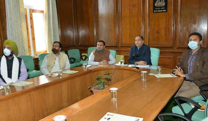 "CM Jai Ram Thakurinaugurates ""Swachhata Cafe"" at Nalagarh"