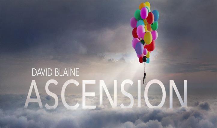 52 हीलियम गुब्बारों की मदद से 25,000 फीट ऊपर उड़े जादूगर डेविड ब्लेन; Video ने तोड़े सारे रिकॉर्ड