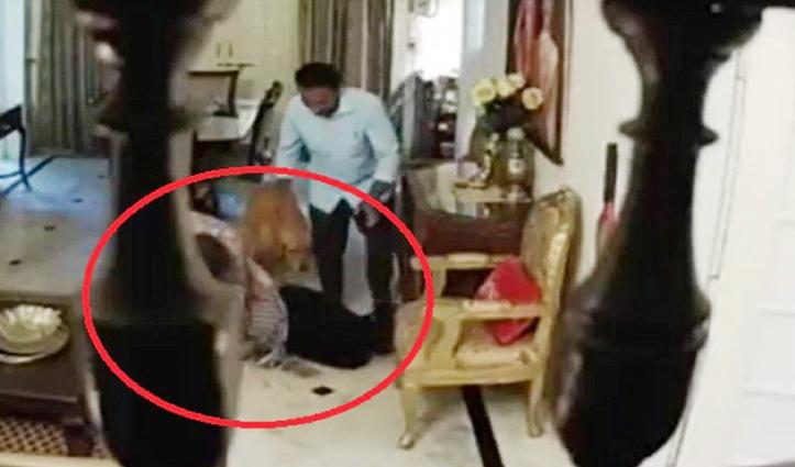 पत्नी से मारपीट के #Video पर DG सस्पेंड, बोले- कानूनी कार्रवाई का सामना करने के लिए तैयार