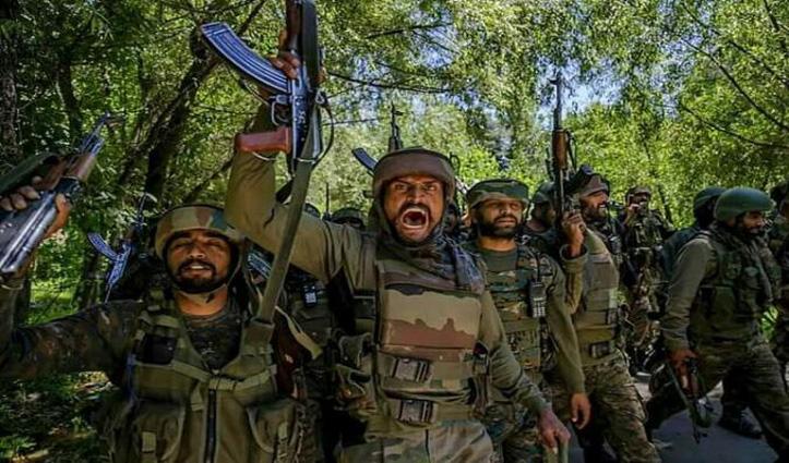 #Baramulla_Encounter: दो आतंकी ढेर, सेना का एक अधिकारी घायल; सर्च ऑपरेशन जारी