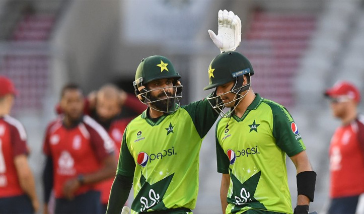 इंग्लैंड के खिलाफ तीसरे T-20I में पाकिस्तान की जीत, #Series 1-1 की बराबरी पर खत्म