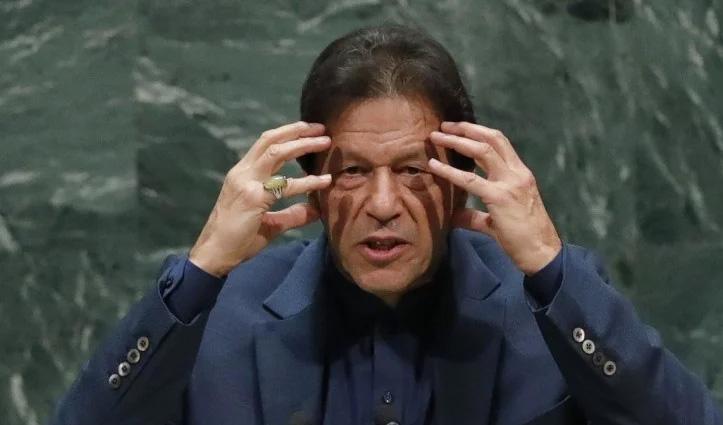 पाक PM इमरान खान ने UN में उगला जहर: भारत को धमकाते हुए कहा- RSS को रोको वरना….