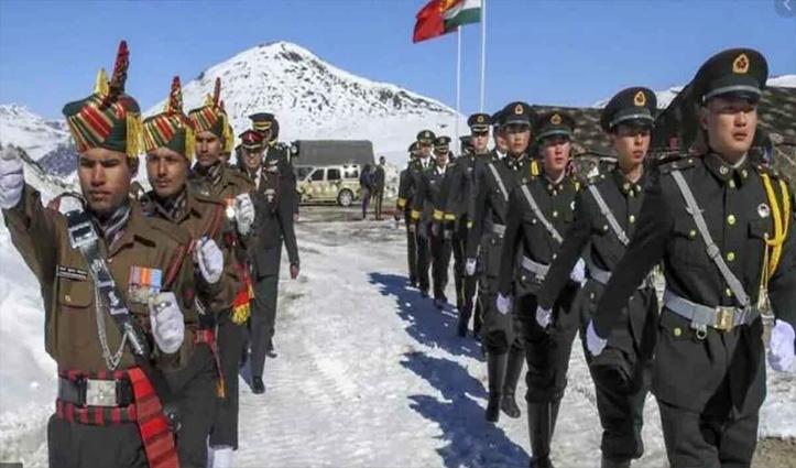 LAC पर China ने कल फिर की थी घुसपैठ की कोशिश लेकिन भारतीय जवानों ने वापस खदेड़ा