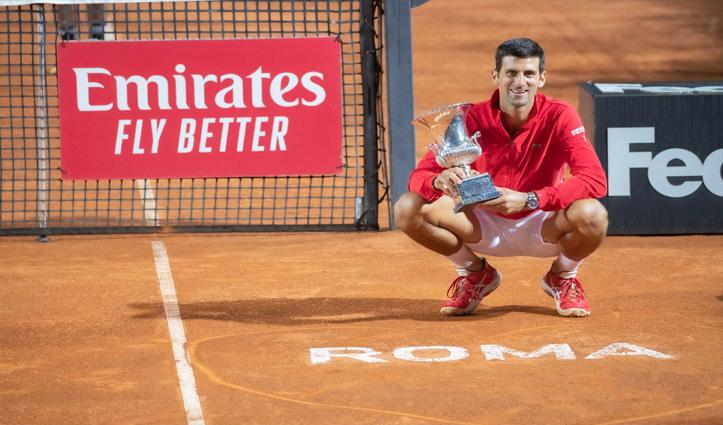Italian_Open: वर्ल्ड No-1 नोवाक जोकोविच ने रिकॉर्ड 36वीं बार जीता ATP मास्टर्स 1000 टाइटल