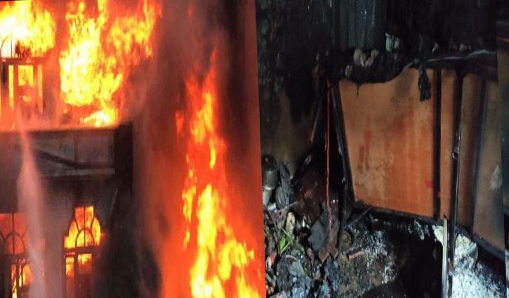 Kullu: भुंतर में स्लेटपोश मकान में भड़की आग में झुलसे दो बच्चों में एक की गई जान