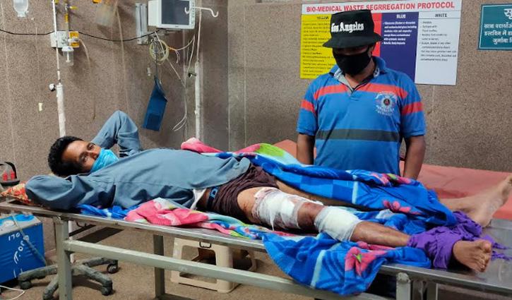 #Kullu की मणिकर्ण घाटी में घास काट रहे व्यक्ति पर भालू ने किया हमला