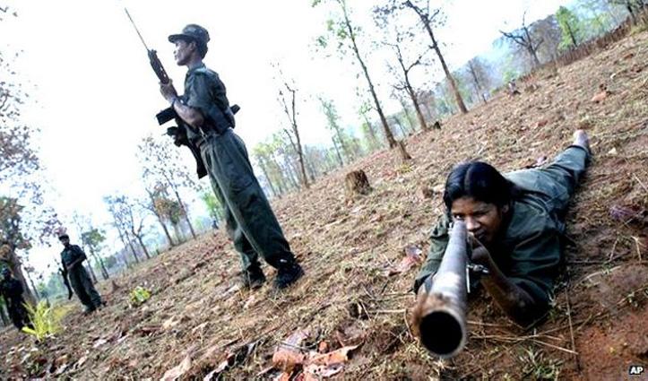 #Telangana: दो महिलाओं समेत 3 कथित माओवादी पुलिस मुठभेड़ में हुए ढेर