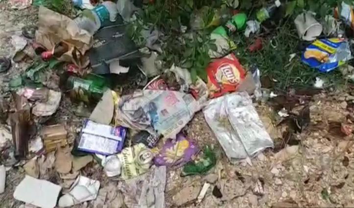 सीएम जयराम का Kangani Dhar हेलीपोर्ट बना नशेड़ियों का अड्डा, दिन-दहाड़े चल रहा काम